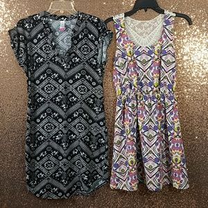Bundle of 2 No Boundaries Juniors Dresses size M 7